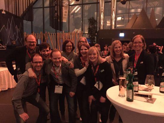 Toller Abend bei der Welcome Party vom AGM in Dortmund.